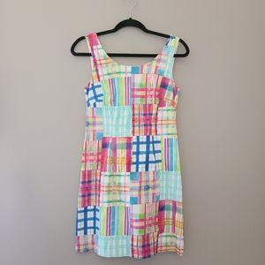 Kaeli Smith Madras Patchwork Dress, Size 4